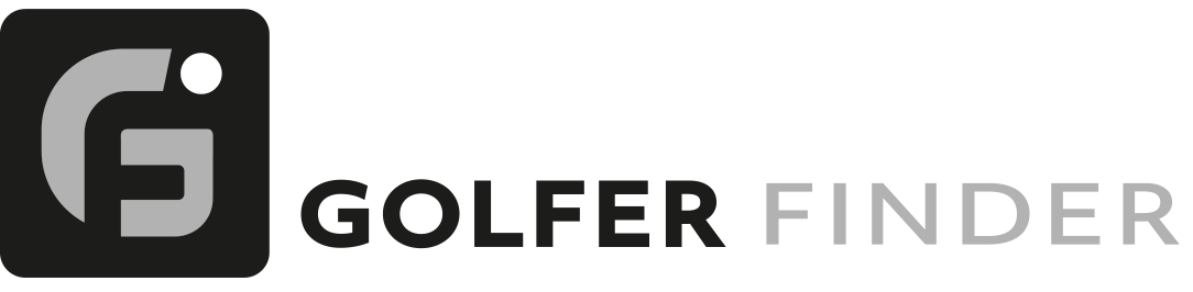 logo golfer finder